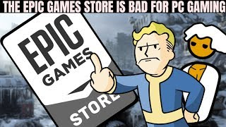 Epic Games Store is Not the Competition PC Gaming (Steam) Needs