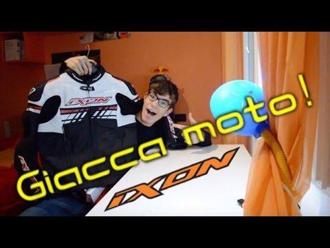 GIACCA CON PROTEZIONI MOTO ! - IXON -