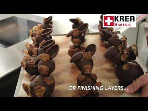 Presenting KREA Swiss Chocolatier Equipment Portfolio