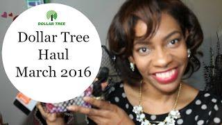 Dollar Tree Haul- March 2016