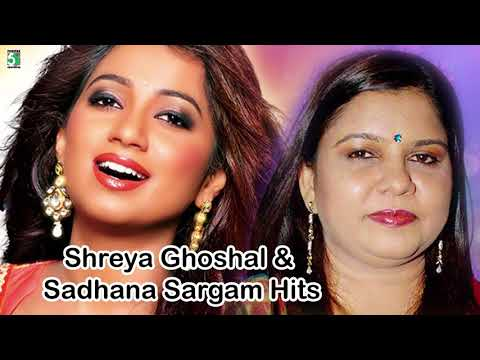 Video Shreya Ghoshal & Sadhana Sargam Super Hit Best Audio Jukebox download in MP3, 3GP, MP4, WEBM, AVI, FLV January 2017