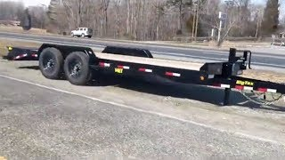 1. Big Tex Equipment Trailer 83x20 14K Mega Ramps - 14ET