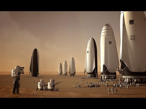Spacex BFR Is Starting To Take Shape_A héten feltöltött legjobb űrhajó videók