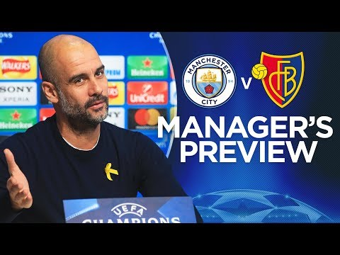 Video: WE ARE STILL ON A JOURNEY | Champions League Press Conference | City v Basel