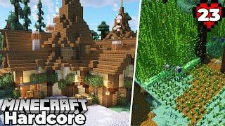 Village Inn and Bamboo Farm! Minecraft 1.16 Hardcore Survival