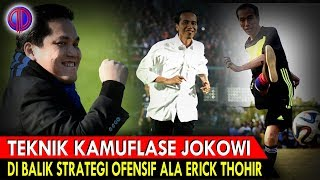 Download Video Cerdik! Teknik Kamufl4se Jokowi di Balik Str4tegi Ofen$if Ala Erick Thohir MP3 3GP MP4