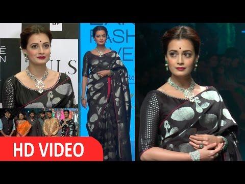 Dia Mirza | Showstopper | Designer Santosh Parikh | Lakme Fashion Week 2016 | UNCUT