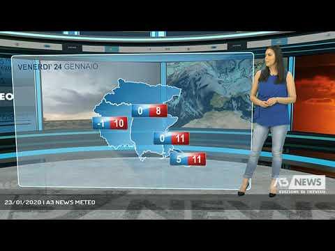 23/01/2020 | A3 NEWS METEO
