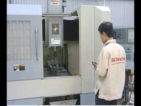 Máy phay CNC 3 trục, 5 trục made in Việt Nam - Made by BKMech