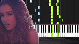 Ariana Grande - Into You - Piano Cover/Tutorial