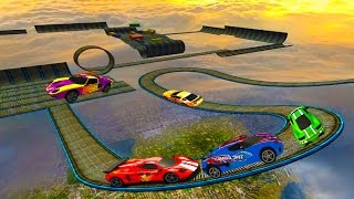 Video Impossible Stunt Car Tracks 3D Game Complete All Vehicles Unlocked & All Levels - Android GamePlay MP3, 3GP, MP4, WEBM, AVI, FLV Maret 2018