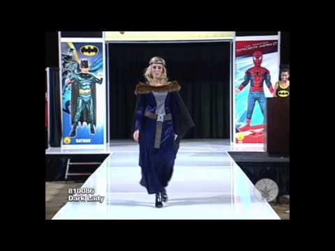 Dark Lady Womens Medieval costume / Déguisement Médiéval de la Demoiselle Sombre