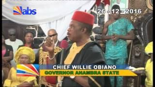 Video Gov Obiano Visits Igwe Of Ukpo MP3, 3GP, MP4, WEBM, AVI, FLV Juli 2018
