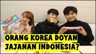 Video ORANG KOREA DOYAN JAJANAN INDONESIA? (TANGO, GARUDA, MALKIST,KUSUKA) l 인도네시아 과자 먹기 MP3, 3GP, MP4, WEBM, AVI, FLV Maret 2019