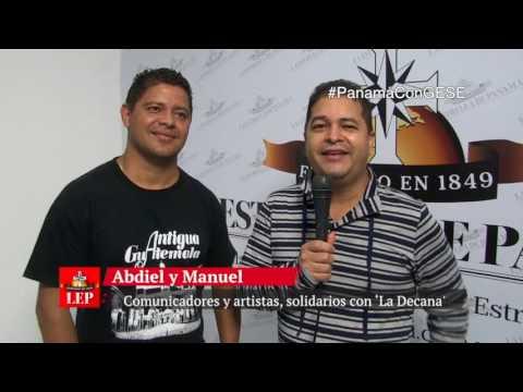Comunicadores y artistas, solidarios con 'La Decana'