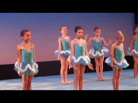 Children Rhythmic Gymnastics Show (видео)
