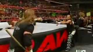 Video John Cena (with Shawn Michaels) vs Mr McMahon (with Triple H) - March 2006 part 2 download in MP3, 3GP, MP4, WEBM, AVI, FLV January 2017
