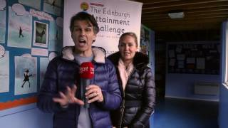 Robin and Adele from Heart Breakfast went along to Sighthill Primary to present charity 'With Kids' with the great they were looking for from our charity Global's Make Some Noise. Only, we had a little surprise for them...