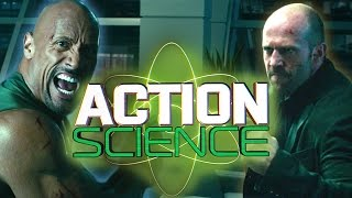 Nonton ACTION SCIENCE: Hobbs (The Rock) vs. Shaw (Jason Statham) in