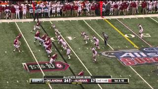 Eric Striker vs Alabama (2013)