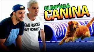 DESAFIO CANINO! DISPUTA INCRÍVEL COM NOSSOS CACHORROS!