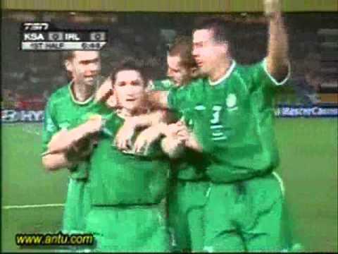 irlanda y los mejores goles del Mundial 2002