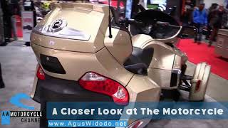 9. Can Am Spyder RT 2017 Review this Motorcycle for 2018 Better