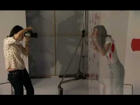 Keira Knightley Comic Relief T-shirts Shoot BTS