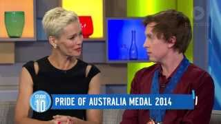 Harrington Australia  City new picture : Jimmy Harrington: Pride Of Australia Medal 2014