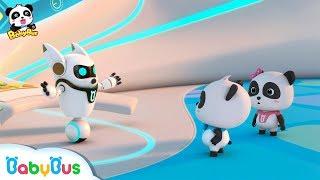Super Panda Got A New Mission   Super Panda Rescue Team   BabyBus Cartoon for Kids