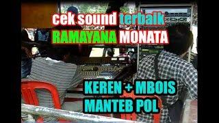 Video MANTEB TERBAIK cek sound Ramayana Monata Lamongan 2017 keren mbois pol MP3, 3GP, MP4, WEBM, AVI, FLV Maret 2018