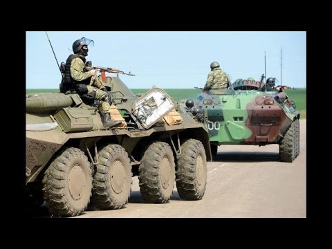 Army - Ukraine's military launched assaults with armoured vehicles and a helicopter Thursday to retake rebel-held eastern towns, including Slavyansk, in which up to five people were reported killed,...