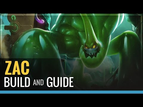 Guide - Zac build! Or as he is known as captain crowd control. -Build- -Spirit of The Ancient Golem -Ninja Tabi and other options discussed. -Spirit Visage -Randuin's Omen -Warmogs/Frozen Heart (anything...