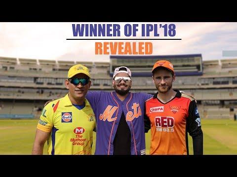 Winner of IPL'18 Revealed   Pinkvilla   Cricket   CSK vs SRH   MS Dhoni