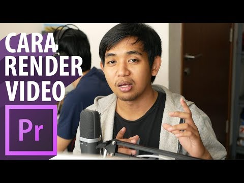 Settingan Buat Render Video Youtube Di Adobe Premiere Pro (Tutorial)