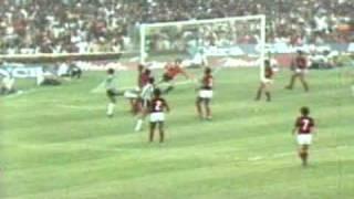 Os gols de Flamengo 3 x 2 Atlético MG, pela final do Brasileirão de 1980