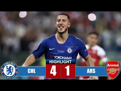 Chelsea Vs Arsenal 4-1। UEL Final 2019 Baku. All Goal And Highlights