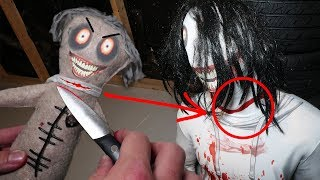 DO NOT MAKE A JEFF THE KILLER VOODOO DOLL AT 3AM!! (I DID THIS TO HIM)