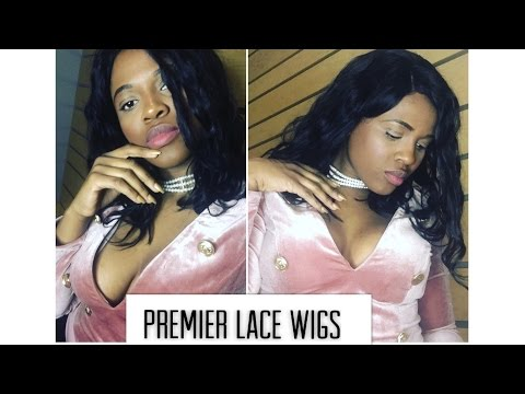 Kim Kardashian Bob Lace Front Wig Feat. Premierlacewigs.com