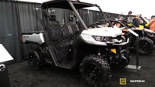 9. 2019 Can Am Defender XT HD10 - Walkaround - 2018 Drummondville ATV Show