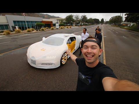 美國首輛 Bugatti Chiron開箱影片「完整」上映!