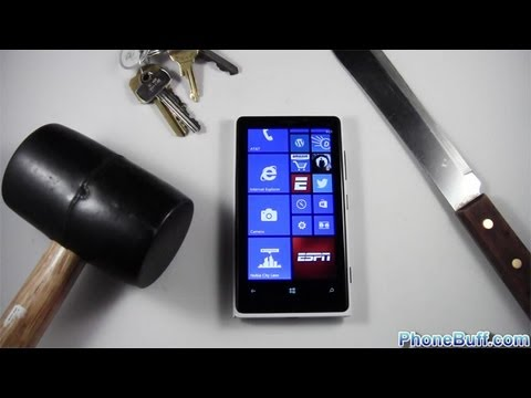 blend my phone contest - Lumia 920 Drop Test: http://youtu.be/jH4xYN9I5Kw Lumia 929 Destruction: http://youtu.be/E3c8il_Q6SU Pricing & Availability: http://amzn.to/WdxbxE Article: ht...