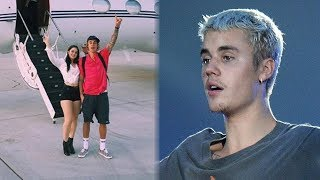 Video Justin Bieber & NEW Girl Take Private Jet To Coachella 2018 MP3, 3GP, MP4, WEBM, AVI, FLV April 2018