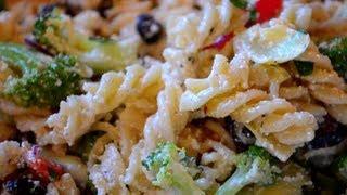 Pasta Salad Recipe   Fast&Simple!
