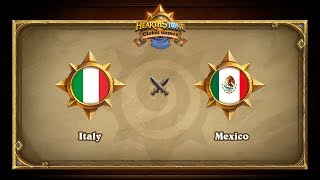 ITA vs MEX, game 1