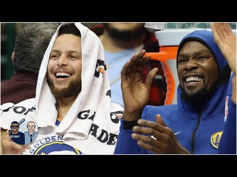 Video: Covering the Warriors on game day is a whirlwind | Jalen & Jacoby