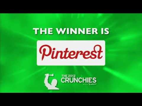 Pinterest: Best Content Discovery Application | TechCrunch 2012 Crunchies Highlights