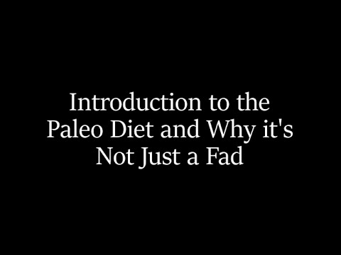 Paleo Diet - Not Just a Fad with Dr. Herbold