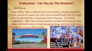 Lesson 9 Endurance Can You Go The Distance