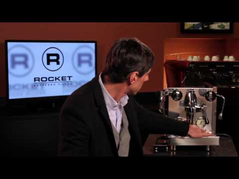Espresso Master Series: Rocket Espresso Machine Design